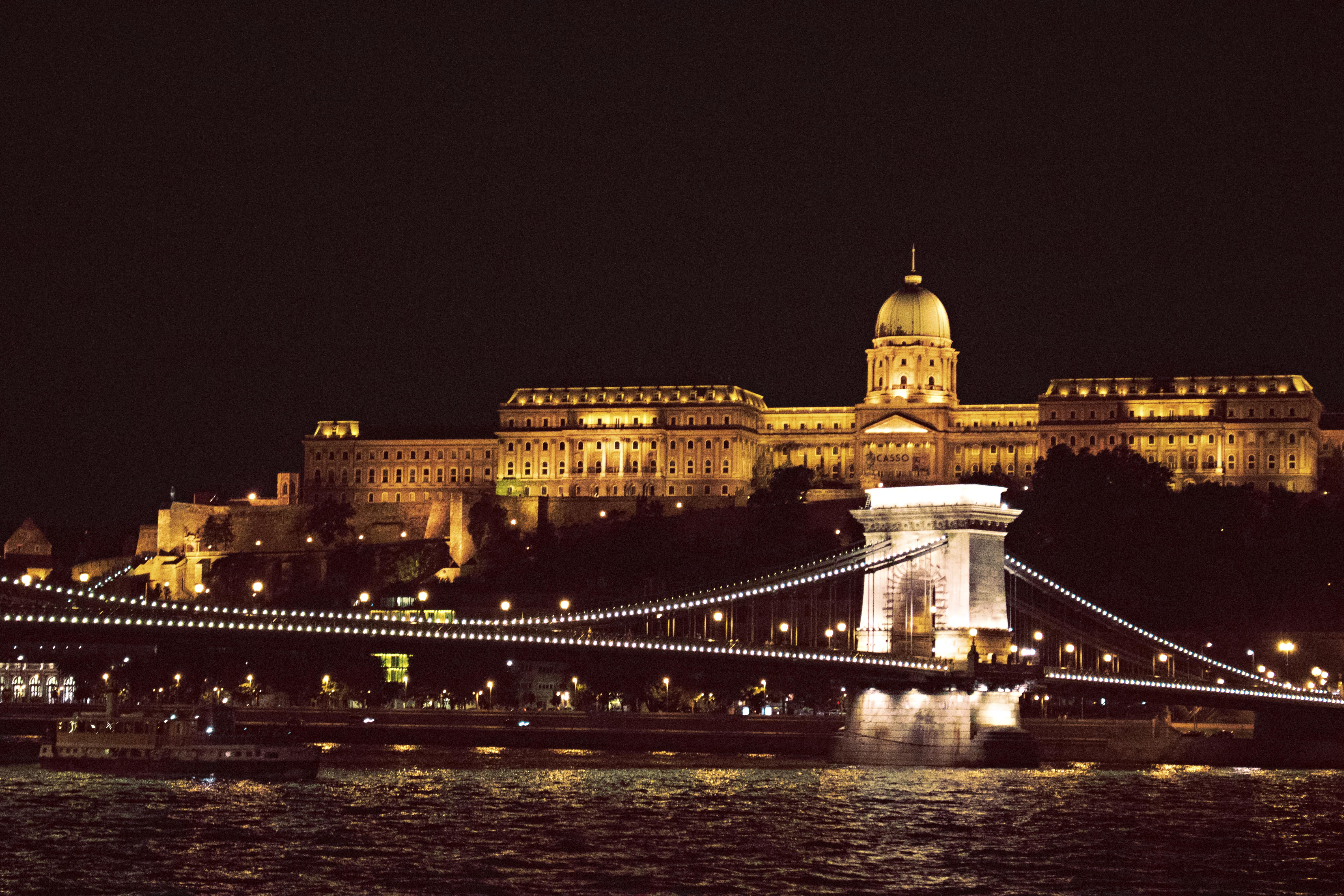 Night time Photography Budapest