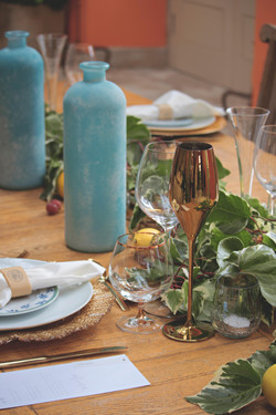 Tuscan Themed Wedding Details