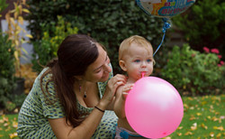 First Birthday Family Portraits in Surrey
