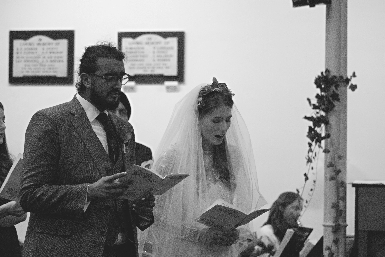 Intimate Church Wedding South West
