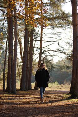 Branding Shoot in the Autumn Surrey
