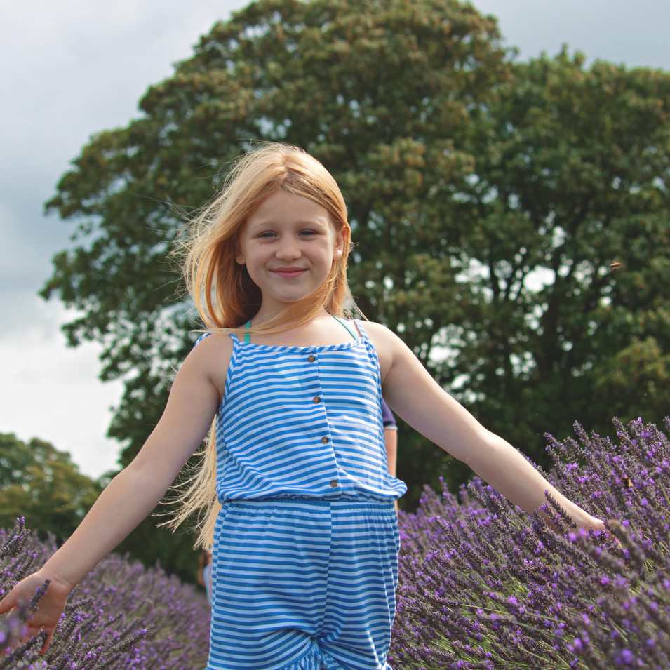 Relaxed Family Photography at the Lavender Fields