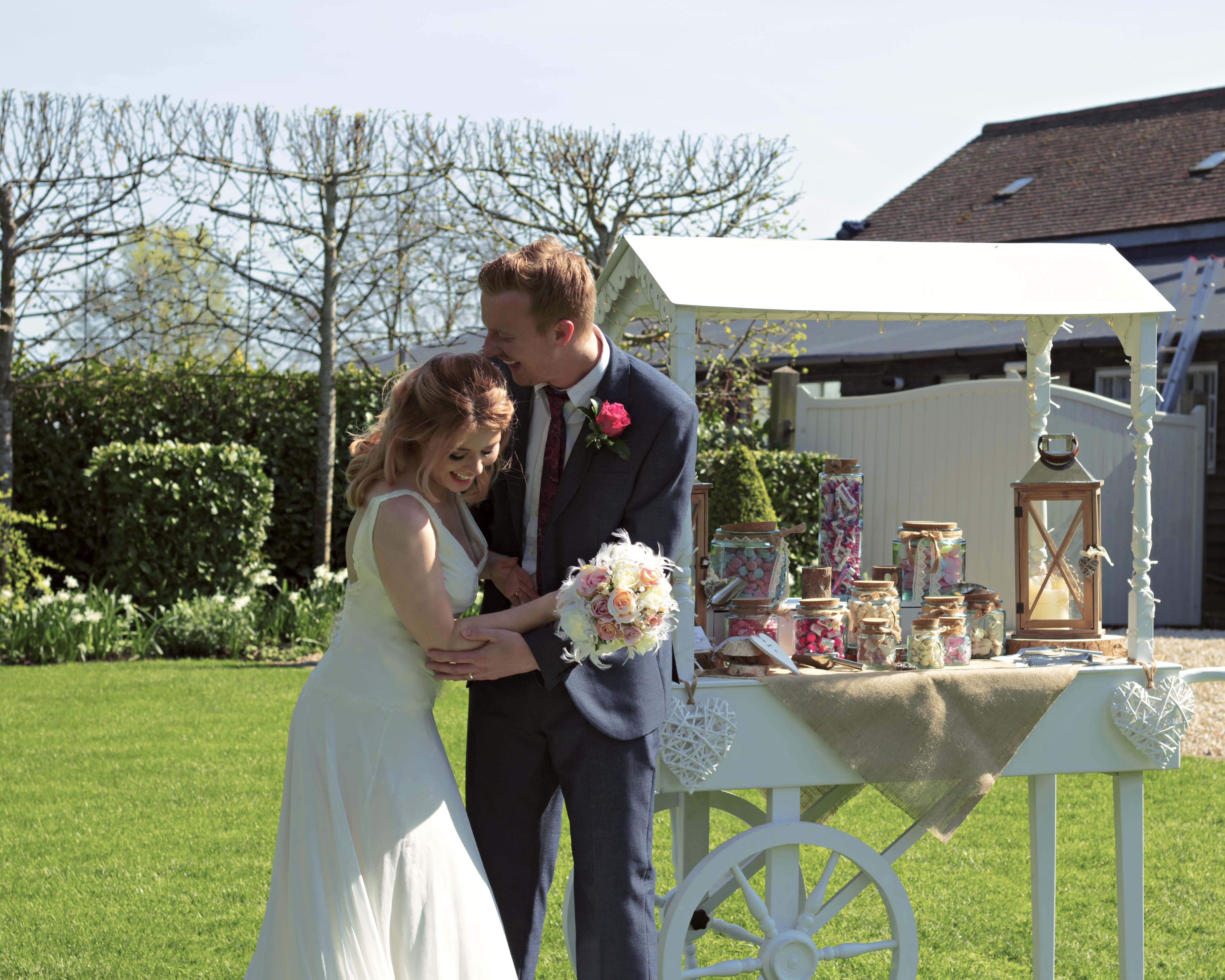 Surrey Wedding Sweet Cart