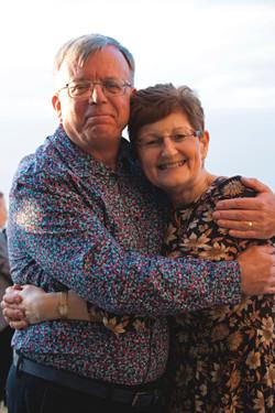 Husband & Wife 70th Birthday Celebration
