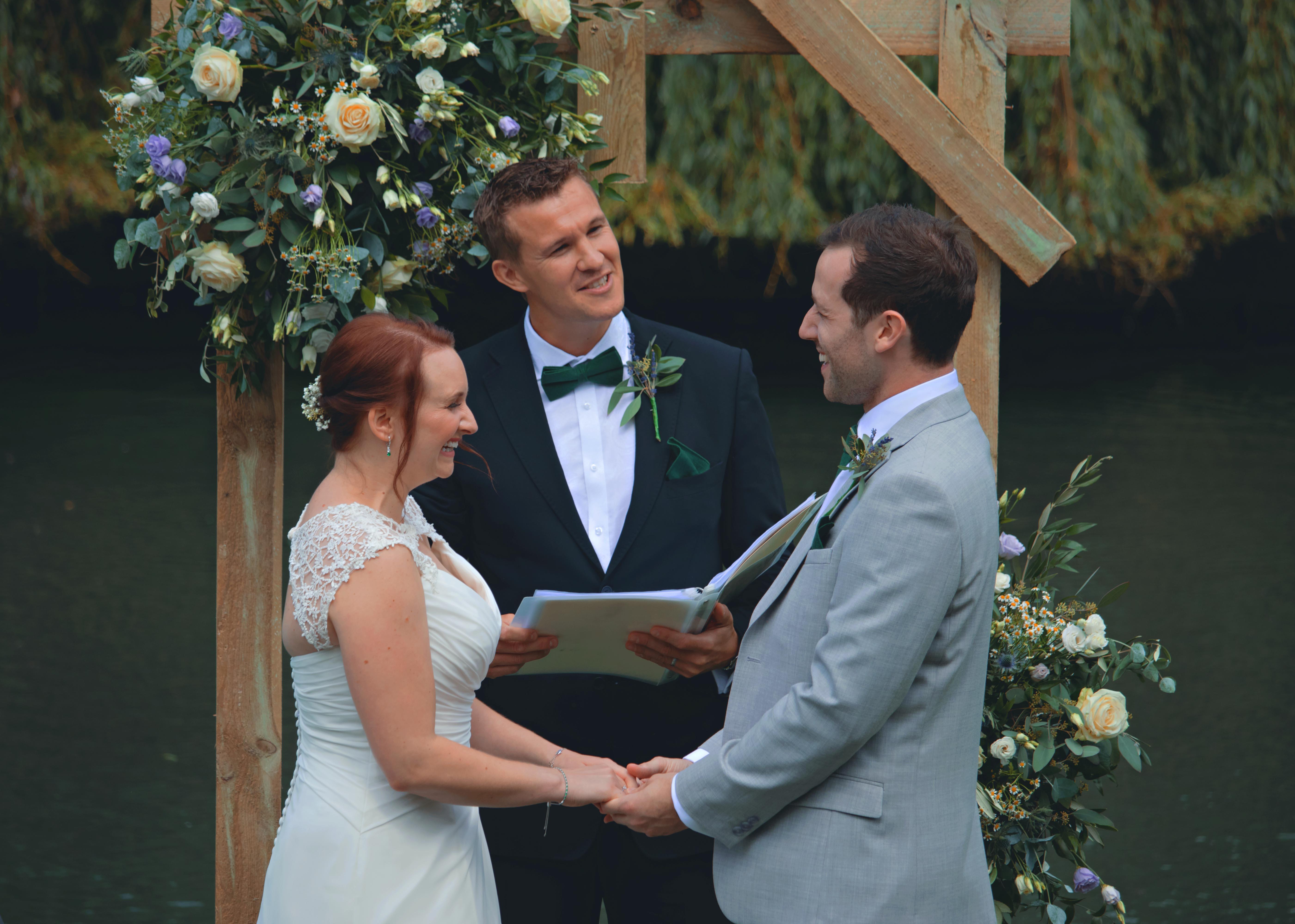 Humanist Wedding Ceremony in Surrey