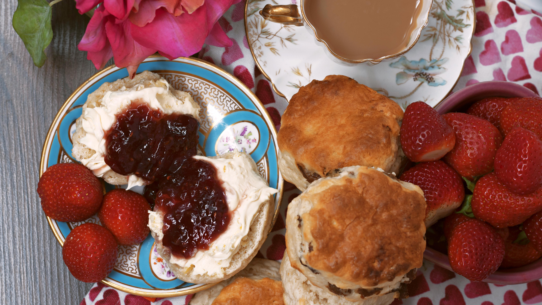 Cream Tea Food Photography