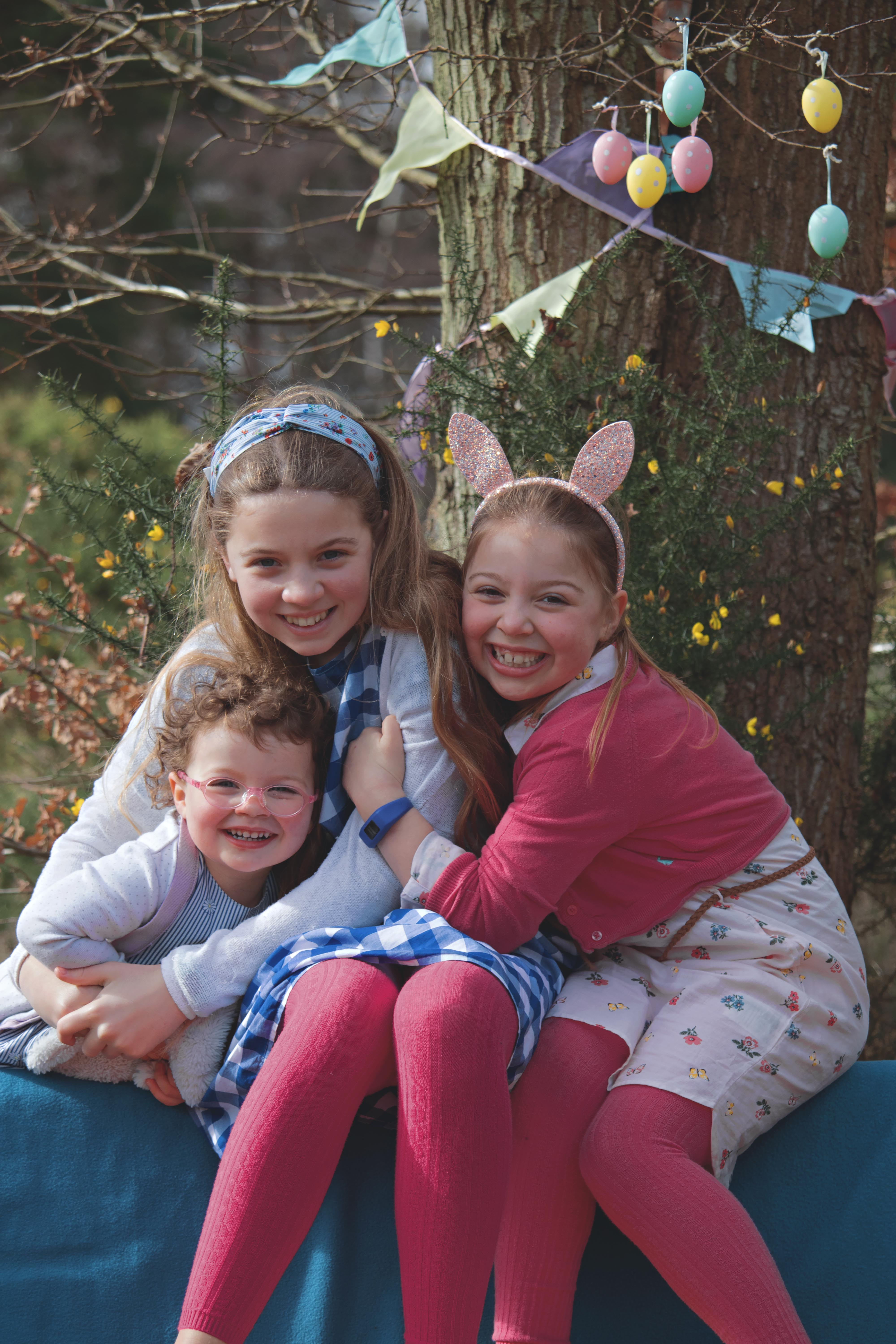 Fun Family Portraits at Easter Time in Surrey