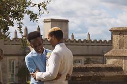 Fairytale Outdoor Wedding Couple Shots