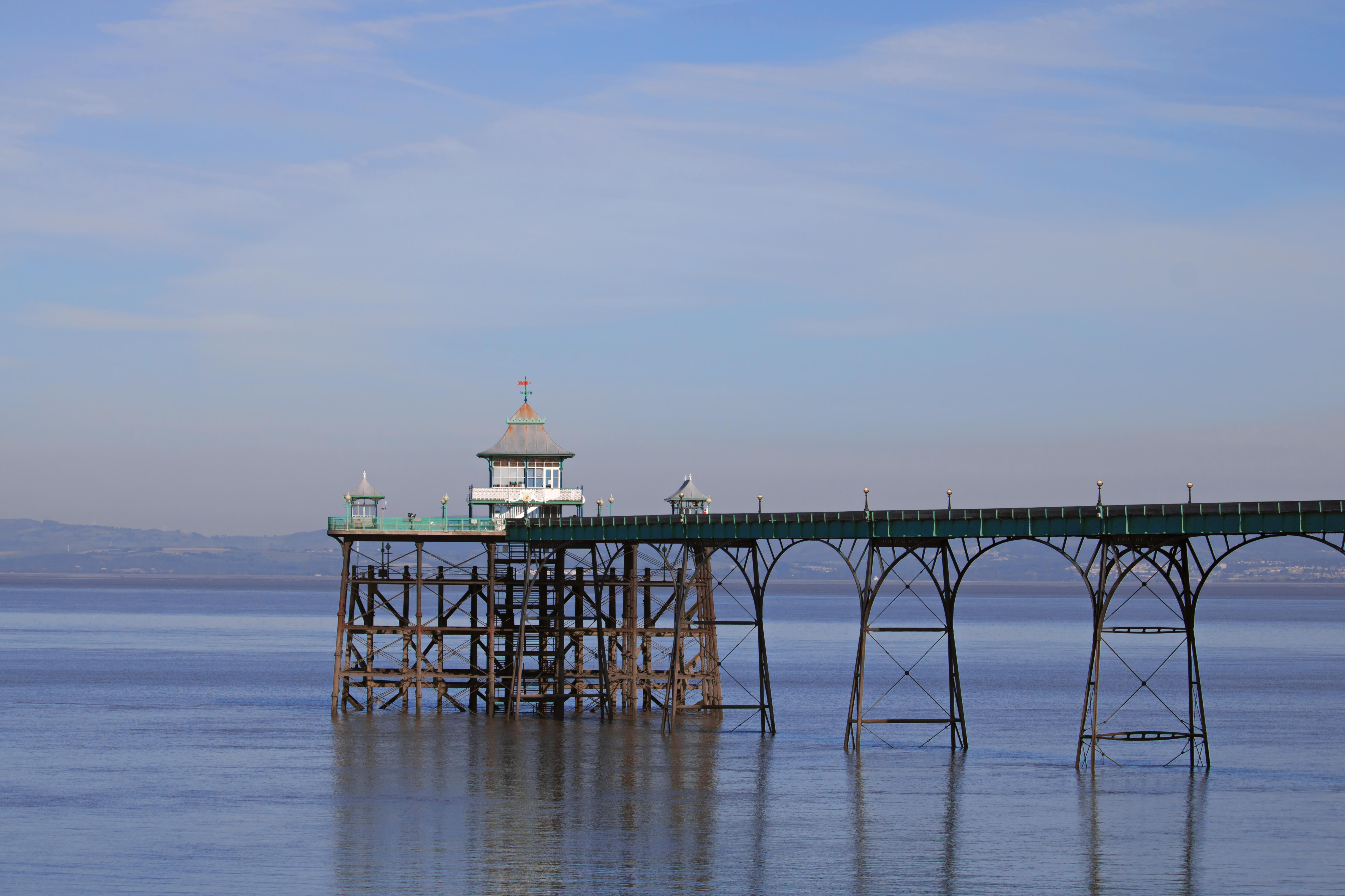 Lovely Pier at Clevedon Seafront