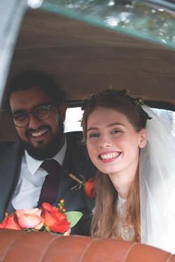 Intimate Wedding Car Couple Shots