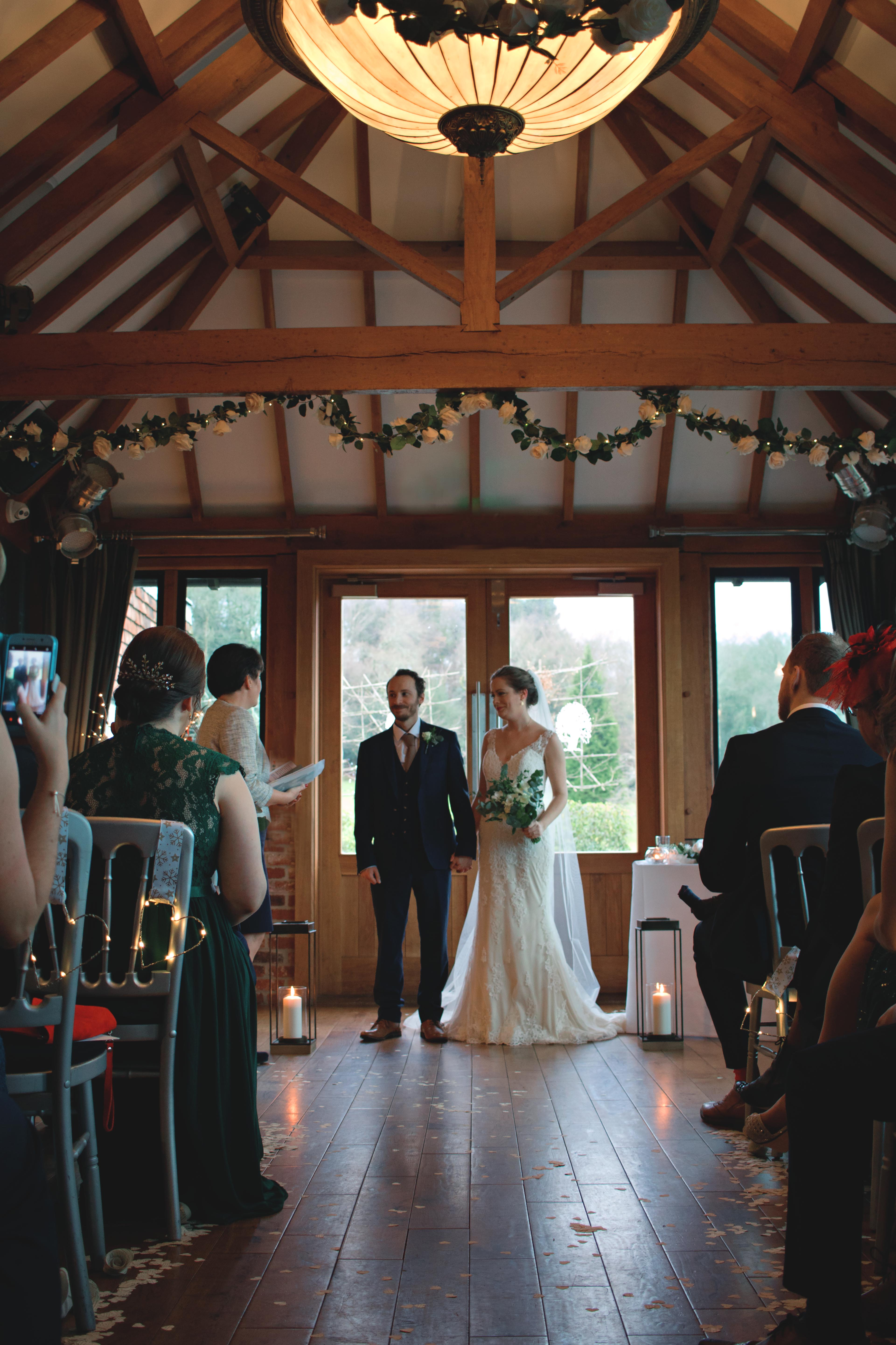 Newly Weds Winter Wedding