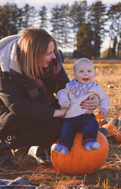 Pumpkin Mini Photography Session