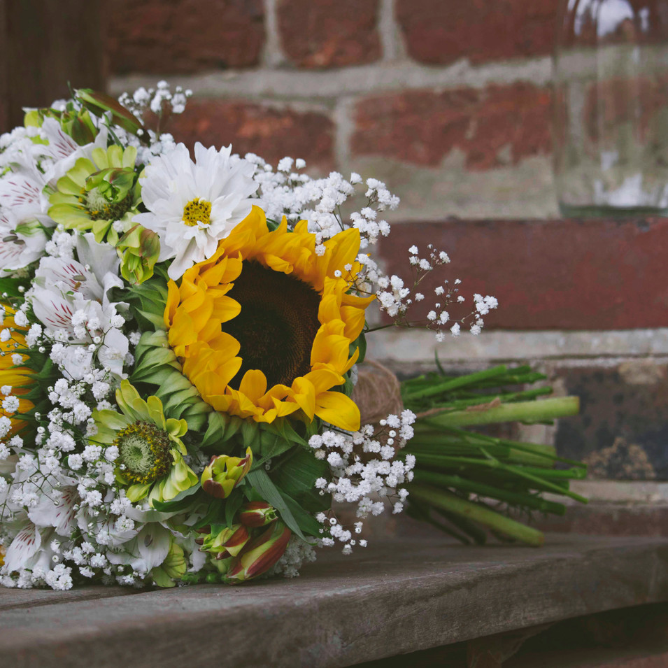 Sunflower Wedding Florals
