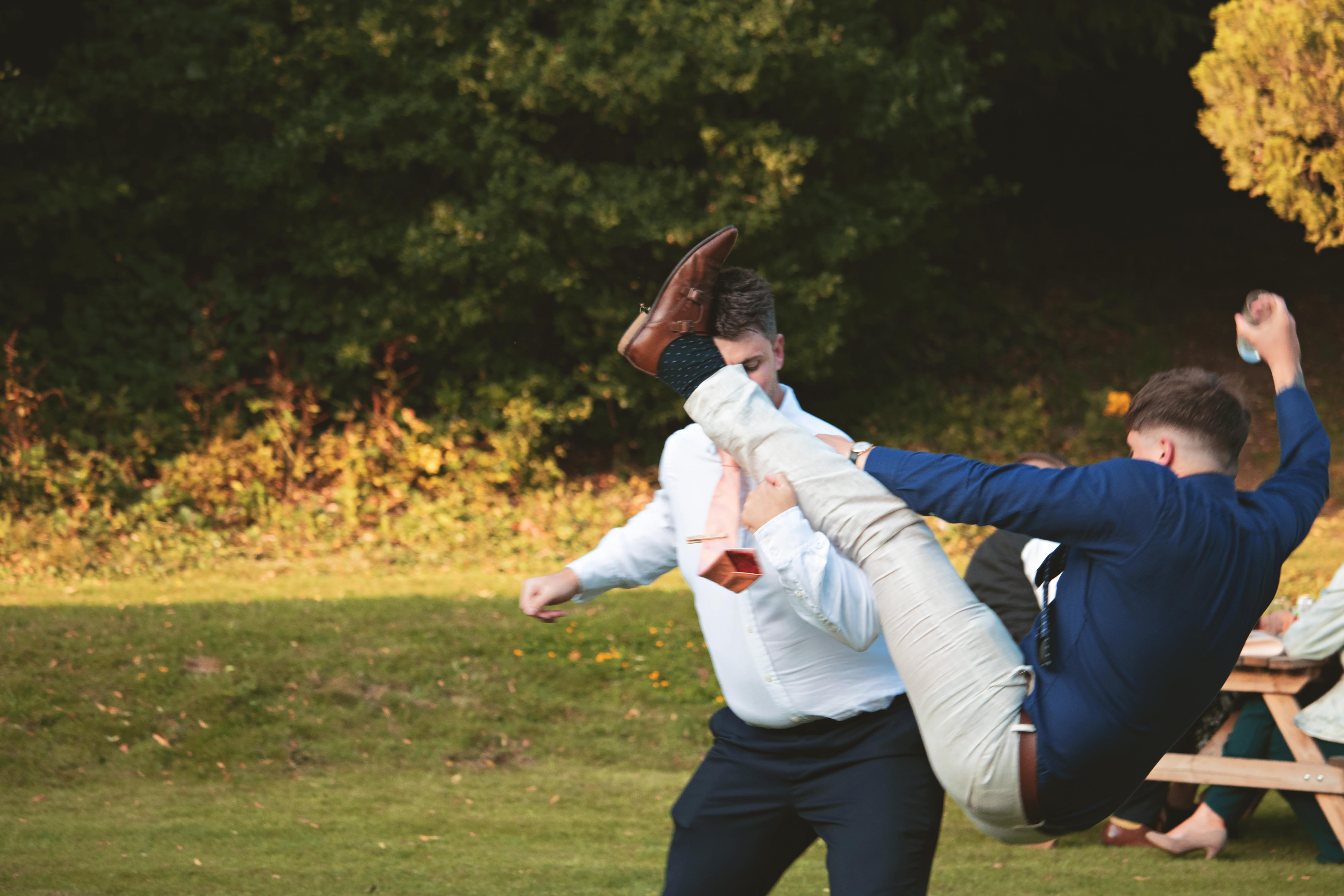 Silly & Relaxed Wedding Guest Shots
