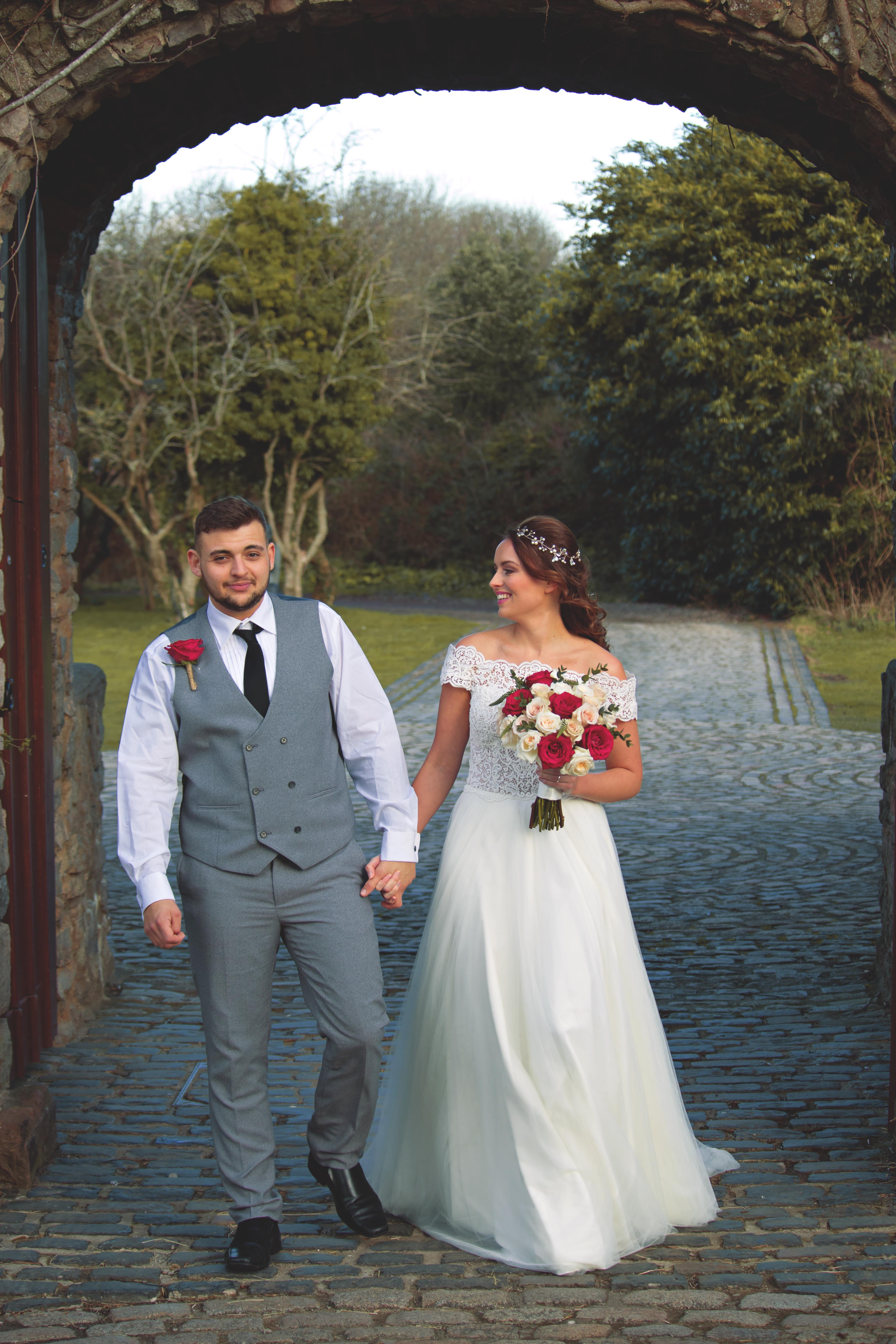 Newly Weds at Walton Castle
