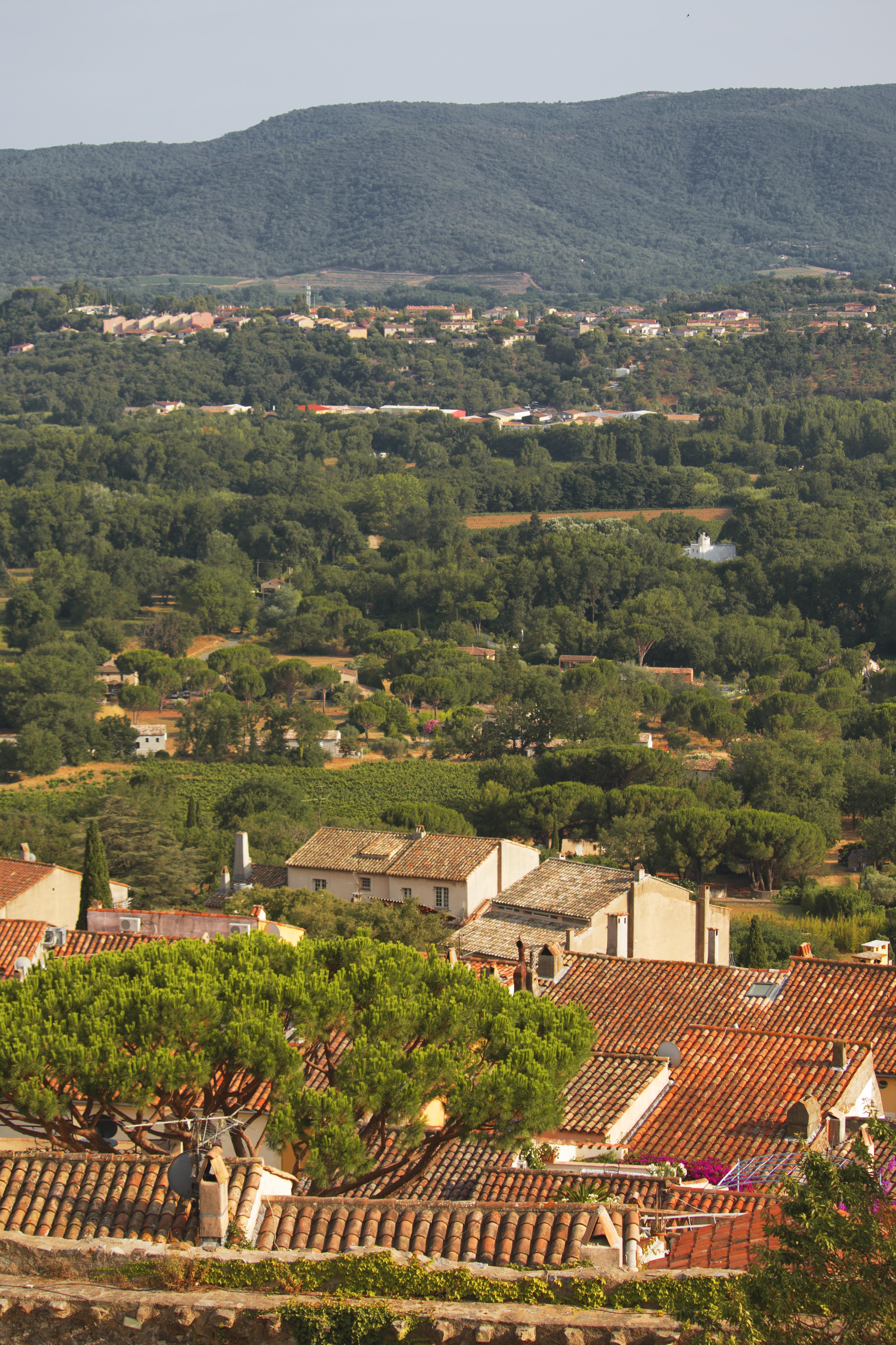 Views of Gulf of Saint-Tropez
