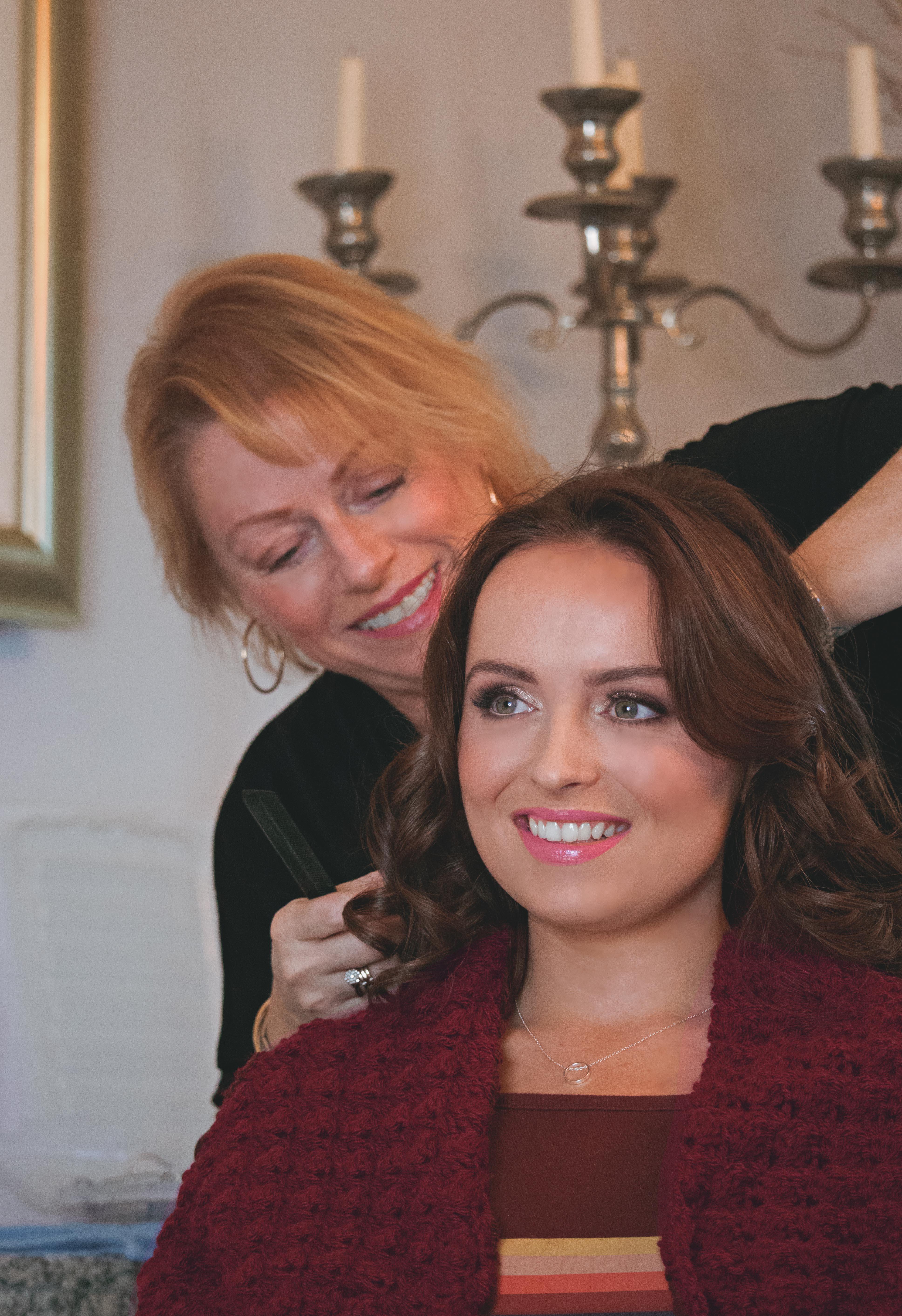 Bridal Hair & Make-up Winter Wedding