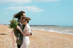 Couple Portraits at Brighton Beach