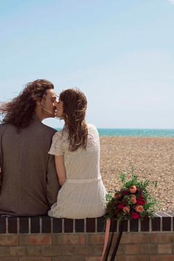 Romantic Seaside Couple Portraits