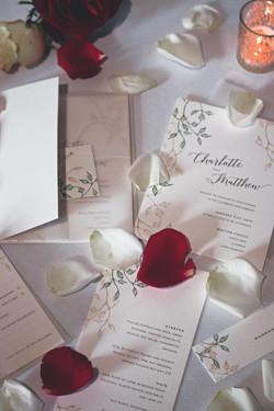 Stunning Winter Wedding Stationery