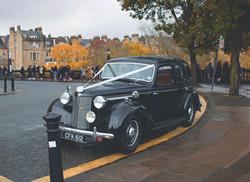 Bath Wedding Car Photography