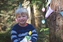 Family Portraits at Easter Time in Mendip