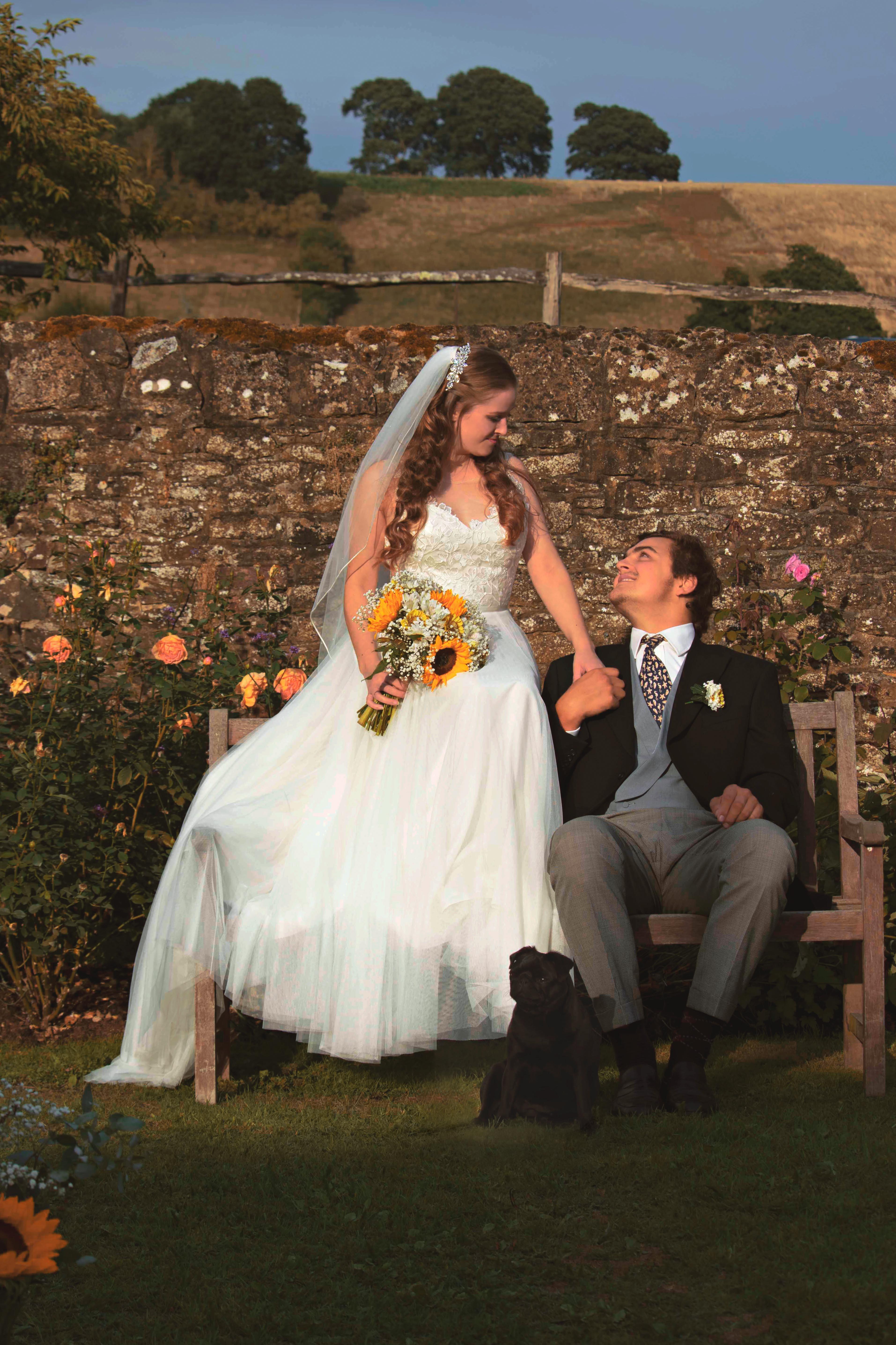 Relaxed English Countryside Farm Wedding Venue