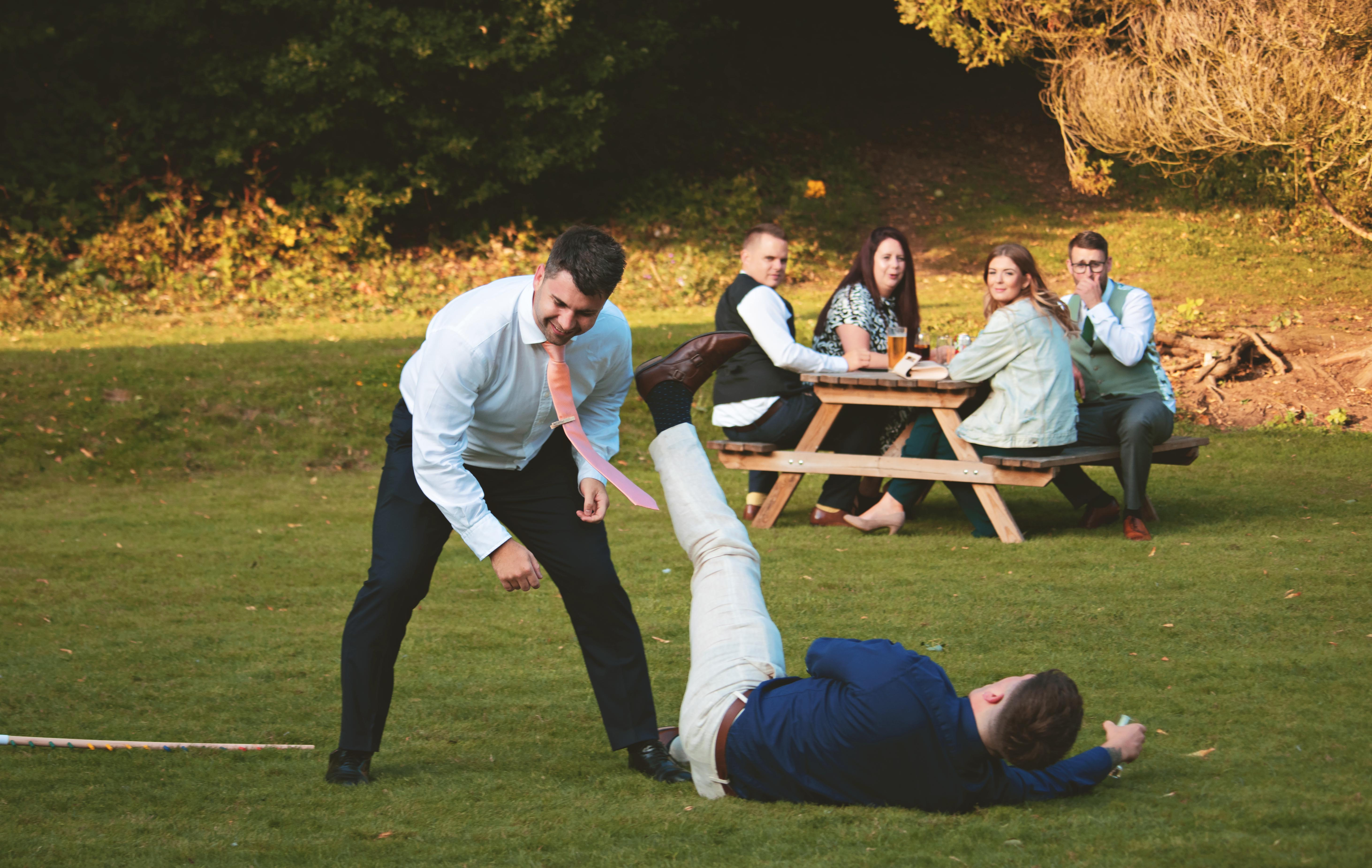 Silly Wedding Guest Shots