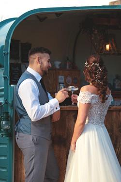 Romantic Couple Shots by Horsebox Bar