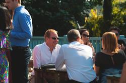 Pub Wedding Reception in the Sun