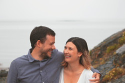 Relaxed Couple Shoots on Family Shoot in Clevedon