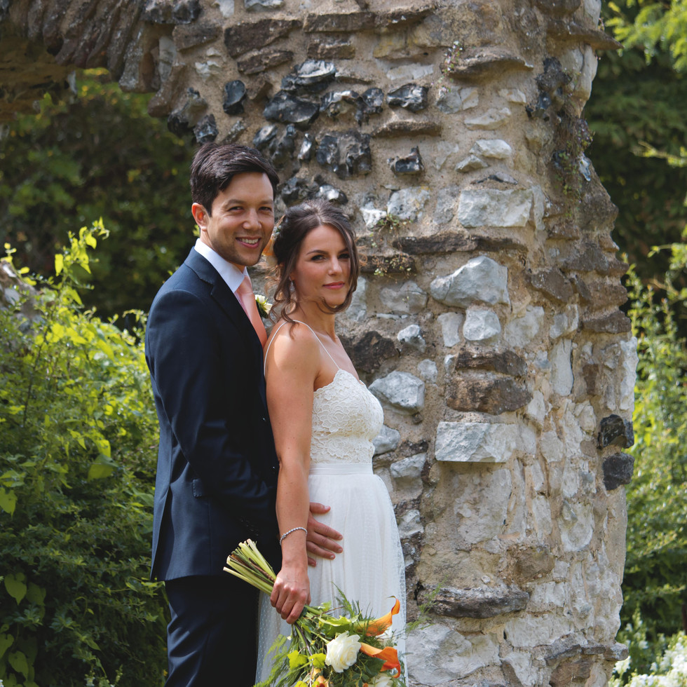 Outdoor Couple Shots at Intimate Summer