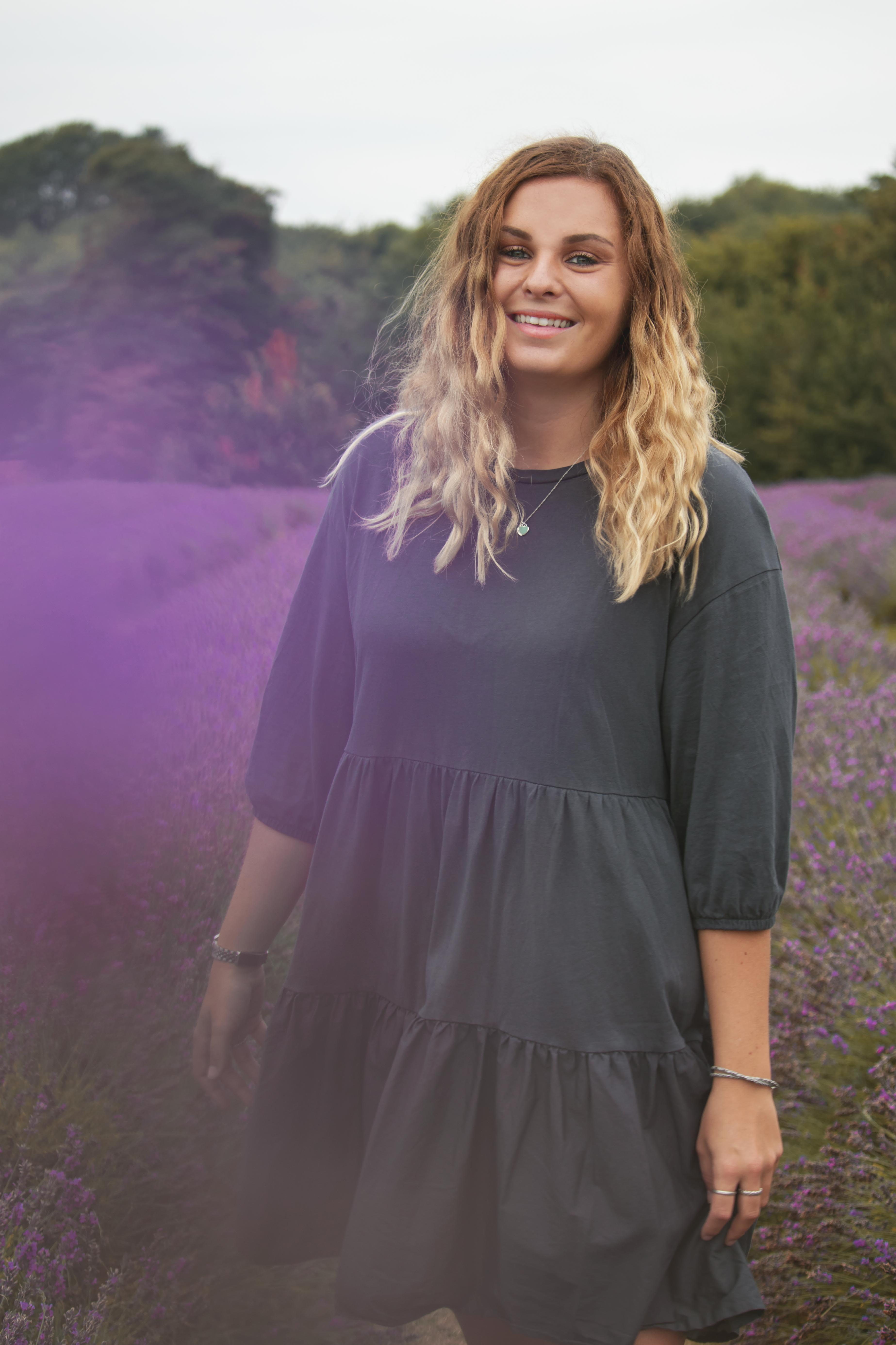Relaxed Branding Photography at the Lavender