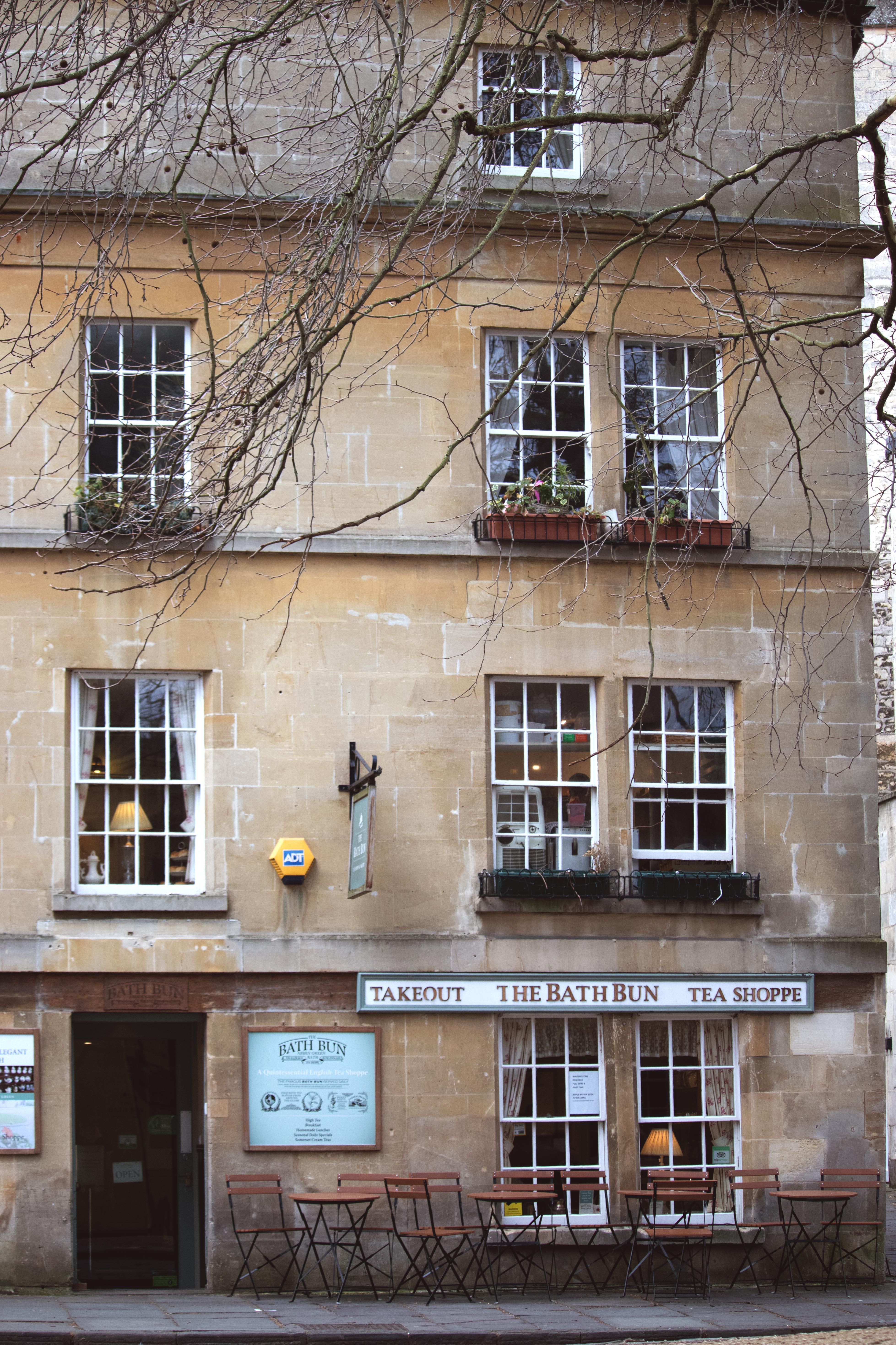 Winter Streets of Bath