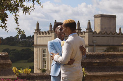 Stunning Fairytale Outdoor Wedding Couple Shots