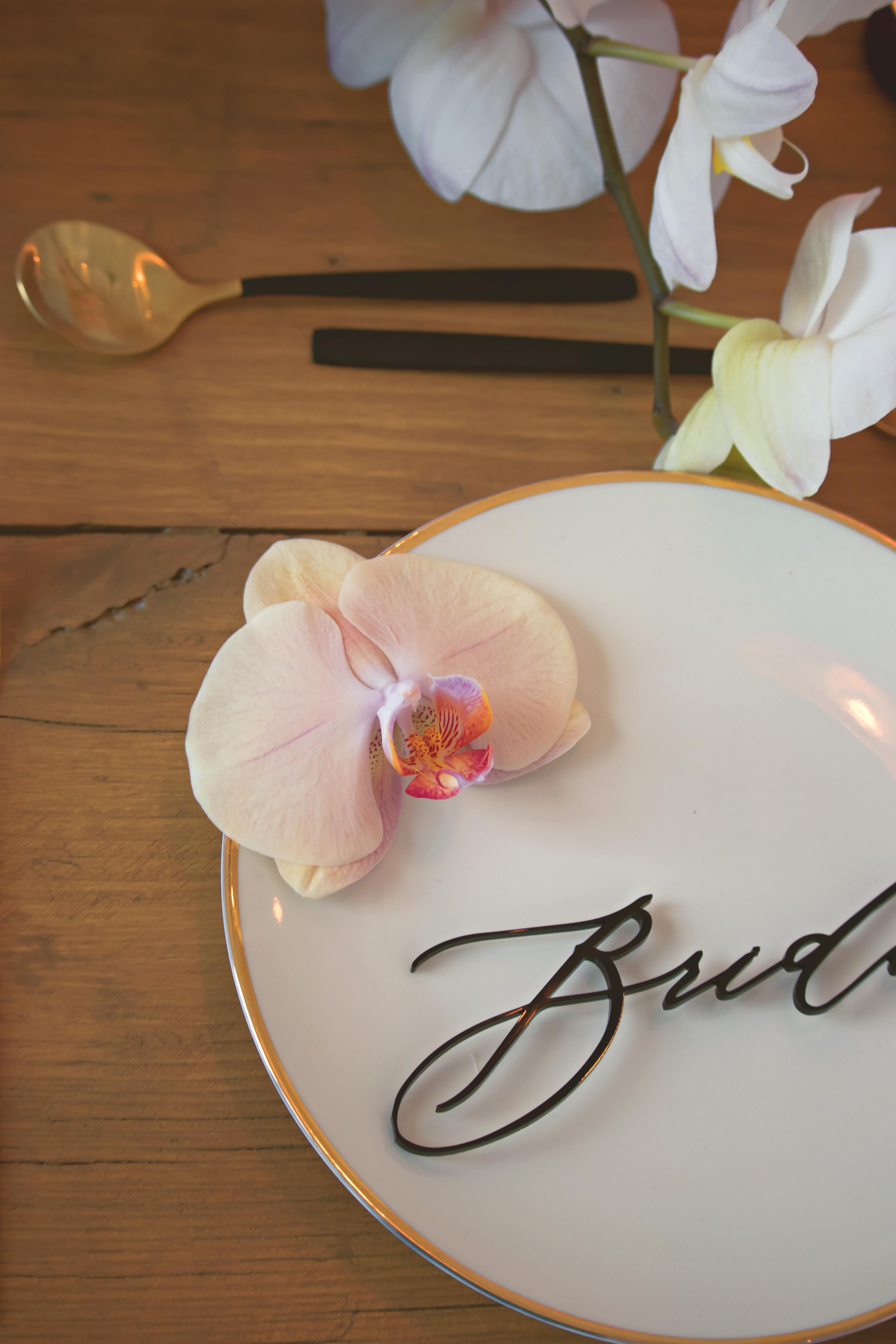 Stylised Shoot with Boutique Blooms