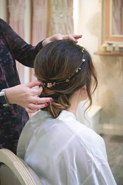 Updo Wedding Hair Wedding Prep photography