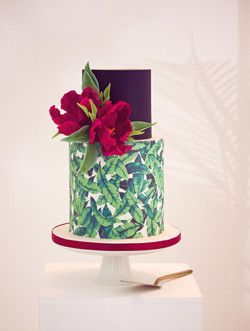 Stylised Shoot Wedding Cake
