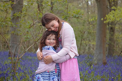 Family Photography in the Bluebells