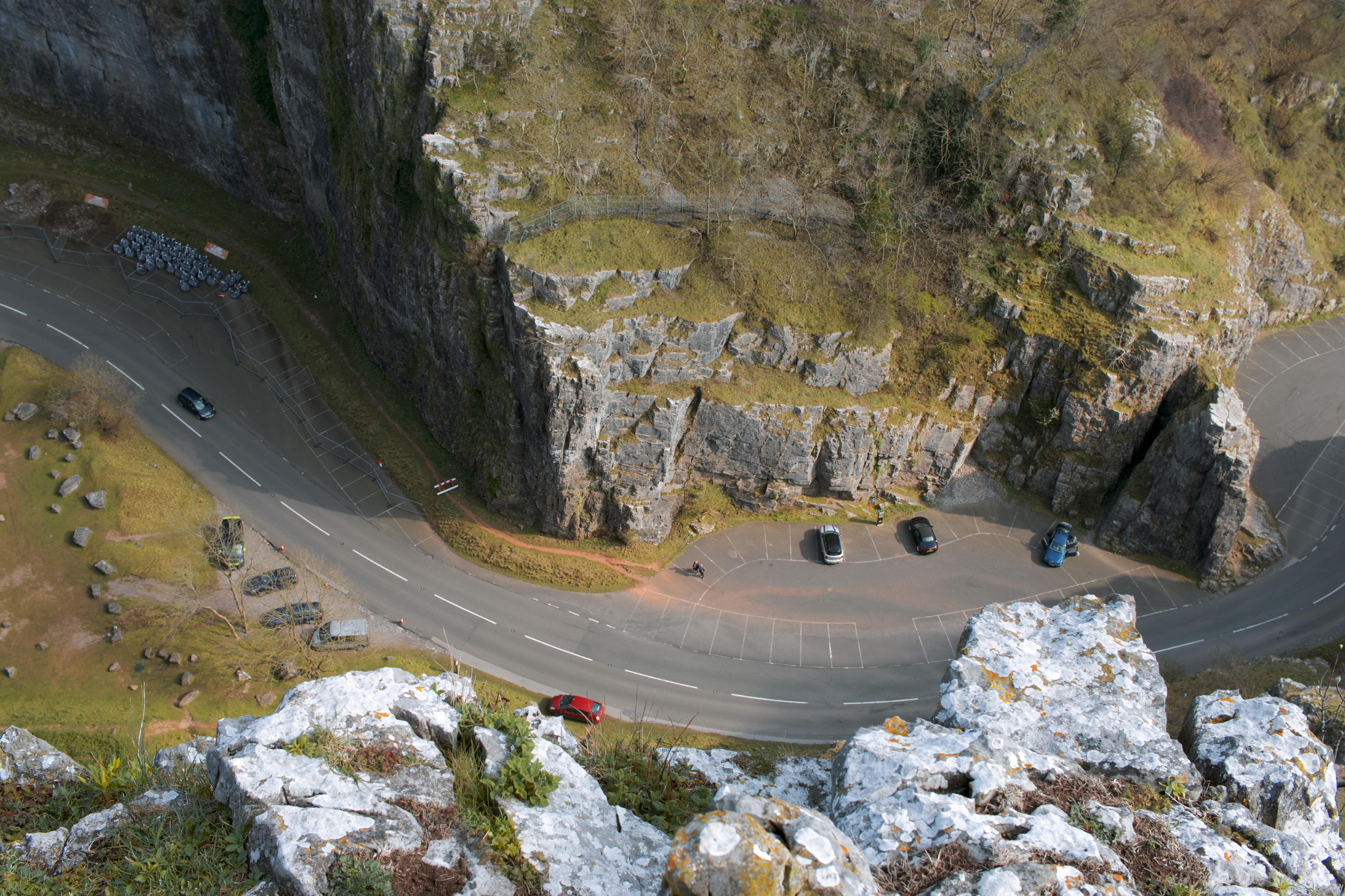 Airel Photography from Chedder Gorge
