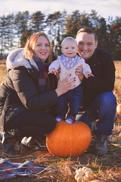 Autumnal Family Photos in Surrey