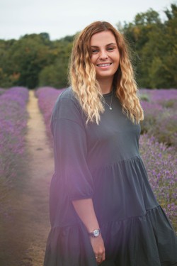 Relaxed Branding Photography at Mayfield Lavender