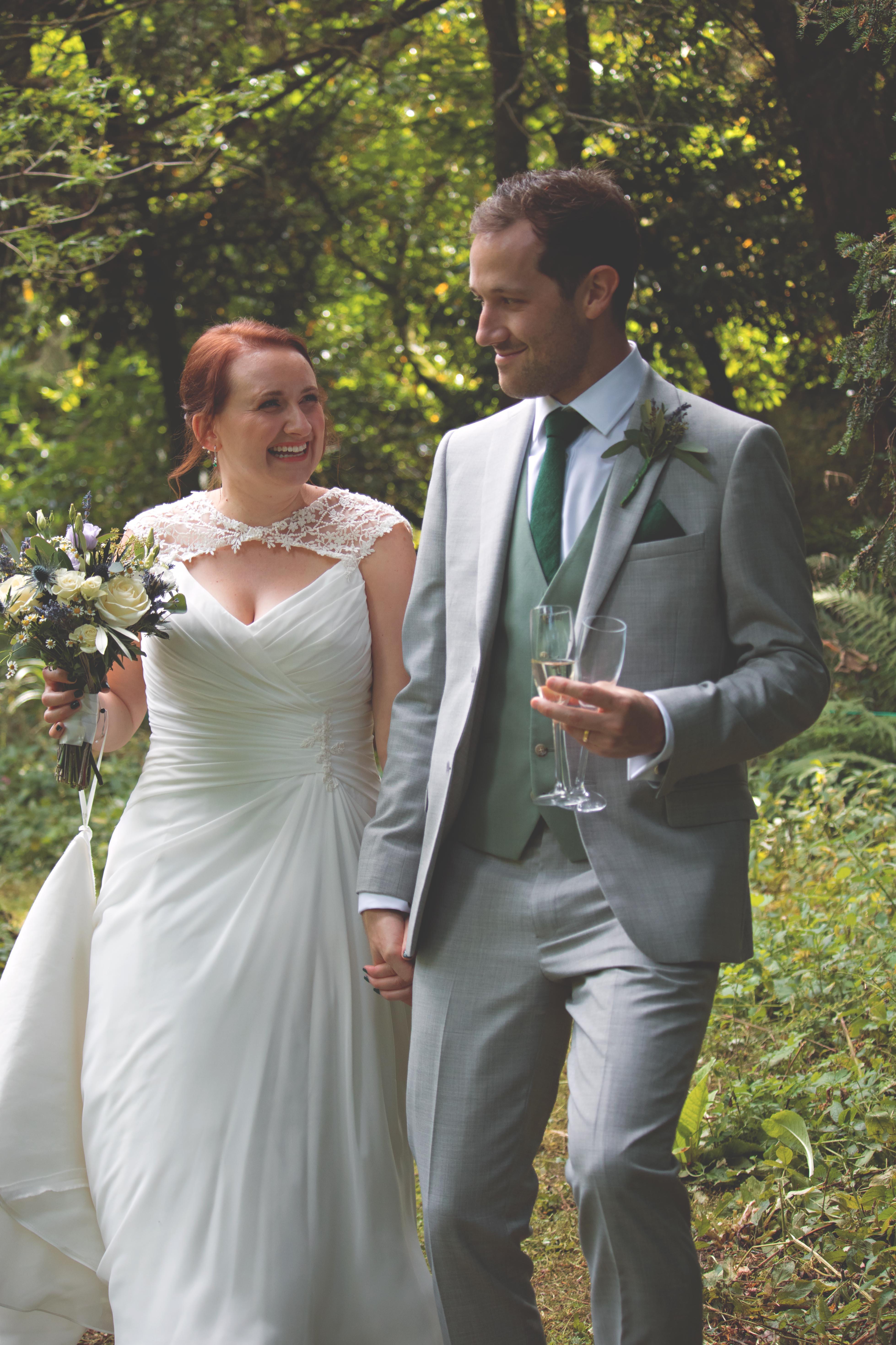 Candid Wedding Couple Shots