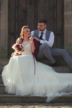 Romantic Fairy-tale Castle Couple Shots