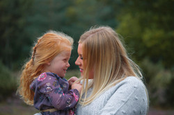 Mummy & Daughter Family Portraits