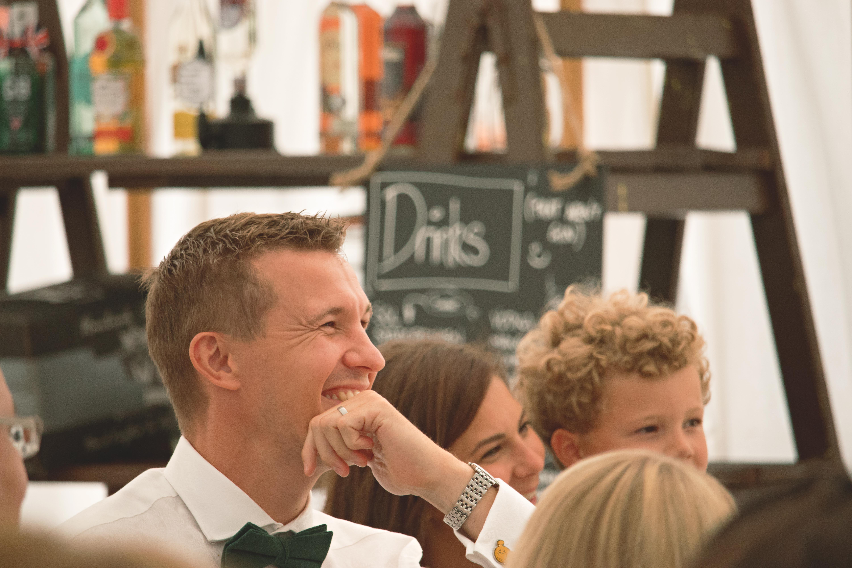 Wedding Speech Laugher Shots