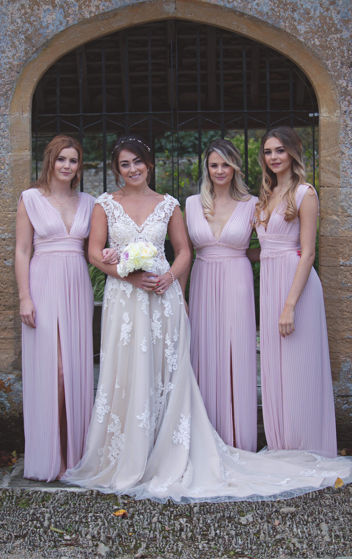 Beautiful Shots of Bride and Bridesmaids