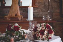 Beautiful Winter Wedding Table