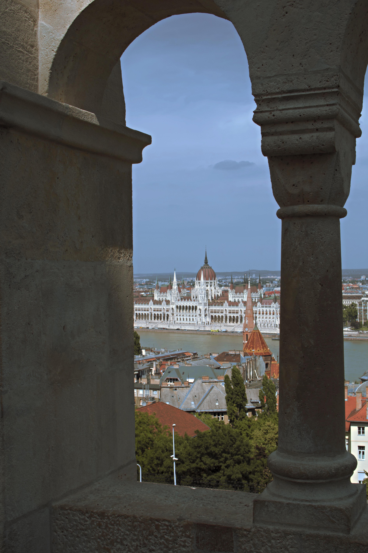 Aerial Budapest Views