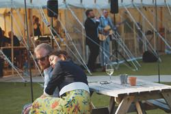 Live Music Outdoor Surrey Summer Wedding